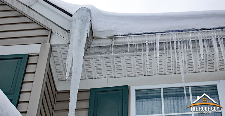 Winter roofing issues