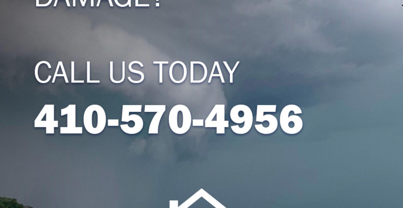 Annapolis Tornado - Roof Wind Damage